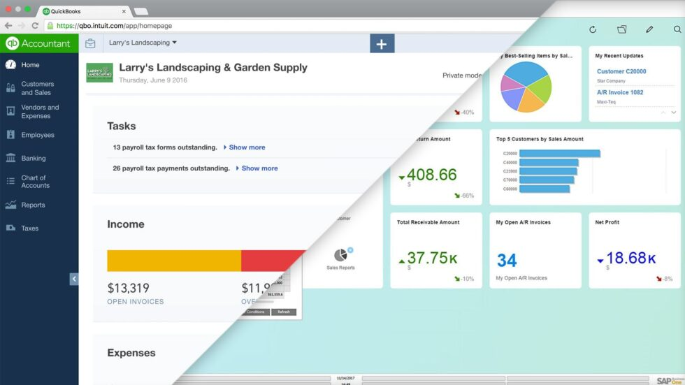 Quickbooks upscaling to ERP Solution
