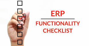 ERP Implementation Checklist