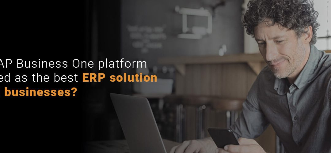 Why is SAP Business One platform considered as the best ERP solution for small businesses?