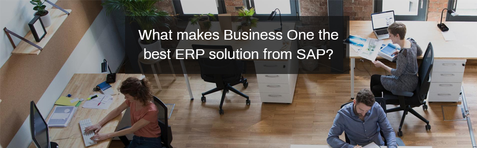 What makes Business One the best ERP solution from SAP?